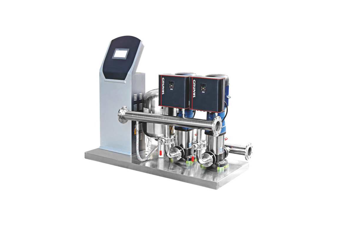 Intelligent frequency conversion constant pressure water supply equipment (remote control)